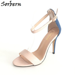 $enCountryForm.capitalKeyWord Australia - 2017 Nude Bridal Wedding Shoes Plus Size Ladies Party Shoes Sandals Shoes For Women Summer Sandals Cheap Modest Sexy