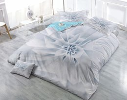 customized bedding sets Australia - Custom Drawings Can be Customized 3D Space geometric lattice Planet Cotton Satin 4-Piece Duvet Cover Sets Bedding Sets