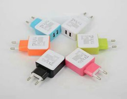 $enCountryForm.capitalKeyWord Canada - Dual USB Wall Charger 5V 2.4A Real Aaapter Charger US EU UK Plug IC Power For Smart phone