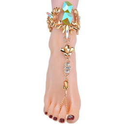 $enCountryForm.capitalKeyWord UK - 2017 New Design Fashion Jewelry Summer Sexy Boho Anklets Bracelets For Women Hot Sale Foot Chain Multi Color Anklets