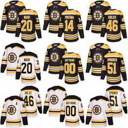 Boston Bruins Jerseys 2017- 18 Season 46 David Krejci 52 Sean Kuraly 20  Riley Nash 51 Ryan Spooner Stiched Hockey Jerseys d27a30d8f