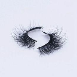 Long Real Hair Extensions UK - Selling 1pair lot 100% Real Siberian 3D Mink Full Strip False Eyelash Long Individual Eyelashes Mink Lashes Extension 3D-39