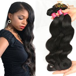 Discount hair waves products - High Quality Rosa Hair Products Brazilian Body Wave Wet&Wavy Virgin Brazilian Hair 3Bundles Brazilian Human Hair Weave N