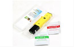 Wholesale Digital PH Meter Pen Type PH-009 0.0~14.0 Automatic Calibration Temperature ACT High Precision Mini PH Tester For Aquarium