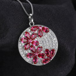 Genuine ruby pendant canada best selling genuine ruby pendant from jewelrypalace flower 45ct created ruby pendant genuine 925 sterling silver women fashion wedding jewelry not include a chain mozeypictures Gallery