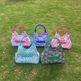 $enCountryForm.capitalKeyWord Canada - Wholesale Blanks Lilly Large Tote Bag Crown Jewel Coral Starfish Seashell Printing Beach Bag Polyester Material DOM103338