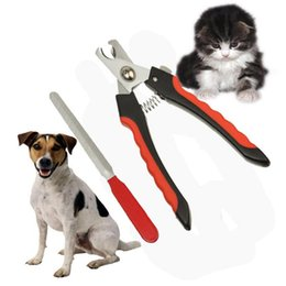 Outils De Ciseaux De Toilettage Pour Animaux De Compagnie Pas Cher-Acier inoxydable Pet Dog Cat ongles Toe Trimmer Clipper Grooming outil de coupe de sécurité griffes Scissor A247