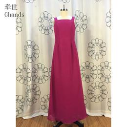 63405dba728 2017 Ghands New JJShouse Cheap Chiffon Spaghetti Square A-Line Elegant  Sweep Train Junior Bridesmaid Dresses Custom Size Color