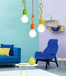 $enCountryForm.capitalKeyWord UK - Edison Led bulbs E27 led pendant lamp modern vintage loft style for home indoor lighting LED E27 Chandeliers cord pendant lamp