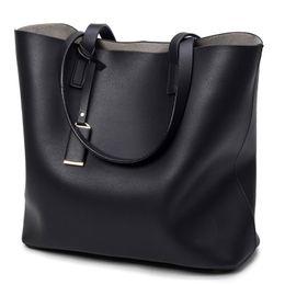 $enCountryForm.capitalKeyWord Canada - New women Microfiber leather bucket bag lady single shoulder handbag female fashion evening bag black grey blue color no113