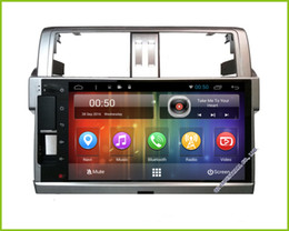 Hd Inch Phone Canada - 2017 NEW Android 6.0 HD 9 inch touch screen Car DVD Multimedia GPS For Toyota Land Cruiser Prado 150 2014 2015 2016
