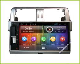 Car Toyota Prado Canada - 2017 NEW Android 6.0 HD 9 inch touch screen Car DVD Multimedia GPS For Toyota Land Cruiser Prado 150 2014 2015 2016