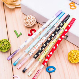 $enCountryForm.capitalKeyWord Canada - 20pcs lot New Promotion Gift Gel Pen with bling Diamond Crystal Stationery Canetas escolar material School Supplies Free Shipping