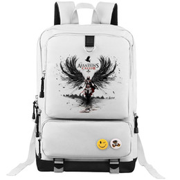 Hottest college backpacks online shopping - Assassins Creed backpack Hot sale school bag Assassin cool daypack Game schoolbag Outdoor rucksack Sport day pack