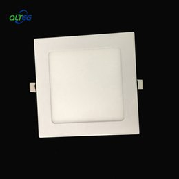 wholesale 20pcs 3w 6w 9w 12w 15w 18w 24w led panel ceiling light dimmable square recessed painel down light lamp for home lighting via dhl - Square Recessed Lighting