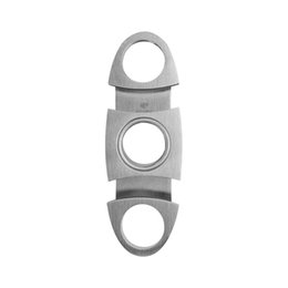 Cohiba Cutters online shopping - COHIBA New style High Grade Portable cigars cutter stainless steel cigar scissors Cutter Knife Double Blades smoking