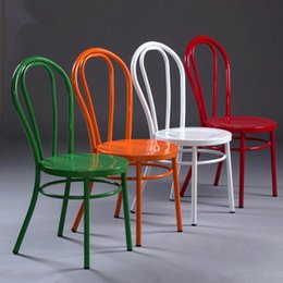 modern dining chairs for sale. creative european-style iron chair hotel dining cafe design seat for hand-made home furnishings four colors modern chairs sale o