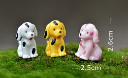 $enCountryForm.capitalKeyWord Canada - 9pcs dogs puppy terrarium figurines fairy garden miniaturas para mini jardins micro landscape bonsai dollhouse decor
