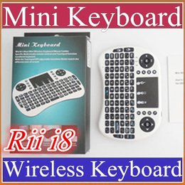 $enCountryForm.capitalKeyWord Canada - 10X 2016 Wireless Keyboard rii i8 keyboards Fly Air Mouse Multi-Media Remote Control Touchpad Handheld for TV BOX Android Mini PC B-FS