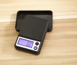 scale wholesalers NZ - Free DHL Fedex 50pcs lot 500gx0.1g Mini Digital Scale Portable LCD Electronic Jewelry Scales Weight Weighting Pocket Scales Y50