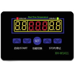 $enCountryForm.capitalKeyWord UK - 10pcs new arrive DC12V multi-function Digital Temperature control W1411 Controller three windows display timer switch machine