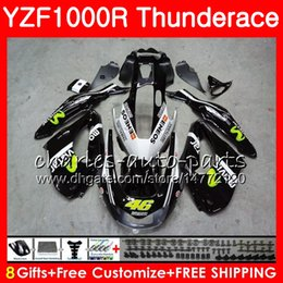 Chinese  Body For YAMAHA Thunderace YZF1000R 96 97 98 99 00 01 07 black white 84NO14 YZF-1000R YZF 1000R 1996 1997 1998 1999 2000 2001 2007 Fairing manufacturers