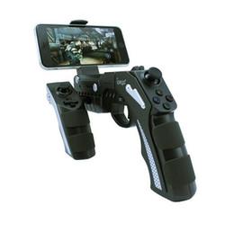 Tablet Wireless Controller Australia - Gun Style Wireless Bluetooth Game Controller Joystick Gamepad Handset for Cell Phone Tablet TV Box