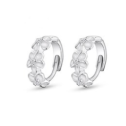 $enCountryForm.capitalKeyWord UK - 925 sterling silver small hoop earrings with zircon fashion jewelry engagement gift for women free shipping good quality