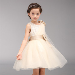 Beautoful Flower Girls Dresses Cheap Hot Sale A Line Communion For Girl Dress Wedding And Birthday Mini