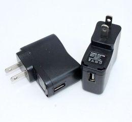 $enCountryForm.capitalKeyWord UK - EGO Wall Charger Black USB AC Power Supply Wall Adapter Adaptor MP3 Charger USA Plug work for EGO-T EGO Battery MP3 MP4 Black