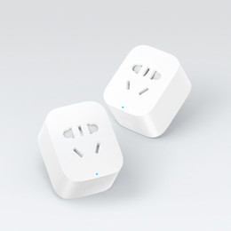$enCountryForm.capitalKeyWord Canada - Wholesale-Original Xiaomi Smart Socket Plug Charger Basic WiFi APP Wireless Remote EU US UK AU Socket Adaptor Power on and off with phone