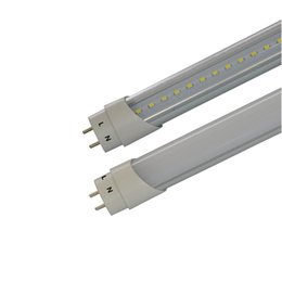 t8 smd led tube lights Canada - High Bright 4ft T8 Led Tube Lights single end one sided power input led tubes 2ft 3ft 5ft SMD 2835 Led Fluorescent bulbs