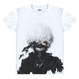 5bf3ed40f2121 Men S Flash Costume UK - Wholesale- Tokyo Ghoul T-shirts New Japan Anime