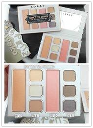 Glitter Ties Canada - New Makeup Eye Lorac Dance 'Tie Dawn Eye & Cheek Palette 2 Blushes & 6 Colors Eye Shadow free shipping
