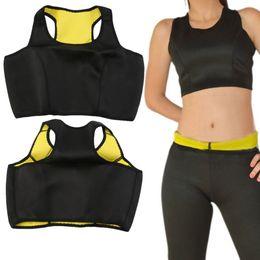 3e72d26a5953e Hot Shapers Vest Women Fitness Tank Top Hot Neoprene Body Shaper Slimming  Vest Running Sports Bra Training Track suit Yoga Tops
