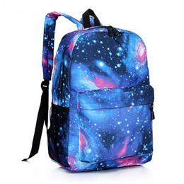 Backpack Flag Print Canada - 2017 Women backpack Stars Universe Space printing backpack School Book Backpacks British flag Stars bag Mochilas Feminina