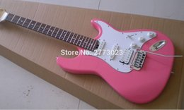 2018 Pink Guitars Double Roll ST Electric Guitar 22F After Adjusting The Piano Jin