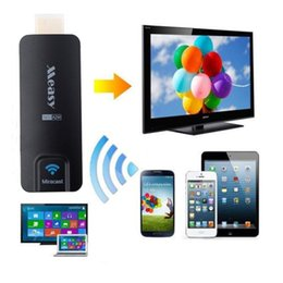 7 Wifi Tablet Australia - Freeshipping Chromecast HDMI WIFI Miracast TV Dongle Support DLNA Airplay Miracast for PC notebook tablet mobile phone Windows XP Vista 7 8