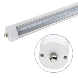 $enCountryForm.capitalKeyWord UK - Tube Lights 8FT 8 Feet 45W Single Pin FA8 T8 LED Tube Light 100LM W Fluorescent Bulb Lamp R17D LED Tube
