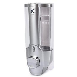 $enCountryForm.capitalKeyWord UK - 350ml Wall Mount Shower Kitchen Single Head Soap Dispenser with a Lock ABS Plastic Liquid Shampoo Vessel for Bathroom Washroom