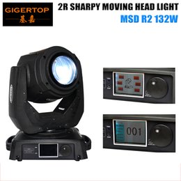 Wholesale Professional W R Beam Moving Head Light R Sharpy Beam MSD R2 W White Color Effect Stage Light CE Certificate