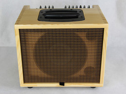 Wholesale t guitars online – design T W hm Quality Chinese Made Acoustic Guitar Amplifier quot Full Range Speaker Channels Send Return Musical Instruments