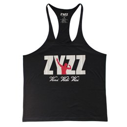 Tee-shirts Singlet Masculin Pas Cher-Tank Top Hommes ZYZZ Fitness Singts Bodybuilding Stringer Golds Gyms Vêtements Manteau Muscle Veste Sportwear Body Engineers