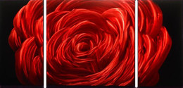 metal painting art abstract NZ - Red Rose Modern High Quality Metal Abstract Wall Art Painting Sculpure For Wall Decoration