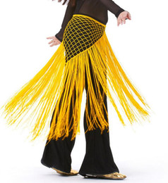 Barato Cintos De Dança Do Ventre Tribal-Free EMS DHL 10pcs estilo argentino estilo tribal belly dance cintos de dança do ventre lenços longos para mulheres 13 cores disponíveis