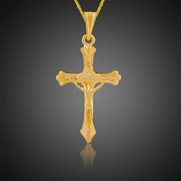 Discount vintage copper cross pendant necklace 2018 vintage 2018 vintage copper cross pendant necklace xs 2017 new vintage necklace trendy male gold color cross aloadofball Choice Image