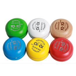 $enCountryForm.capitalKeyWord Australia - 2018 Kids Toys Wooden Yoyo Funny Colorful yo-yo Ball With Line Education Toys Gift For Children