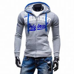 $enCountryForm.capitalKeyWord Canada - 2017 Hoodies Men Sudaderas Hombre Hip Hop Mens Brand Letter Hooded Zipper Hoodie Sweatshirt Suit Slim Fit Men Hoody XXL