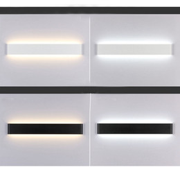 Modern LED Wall Stair Lamp Bedside Wall Light Bathroom Mirror Light Hallway  Stairs Bedside Lead Deco Light 24cm 51cm 72cm 91cm 111cm