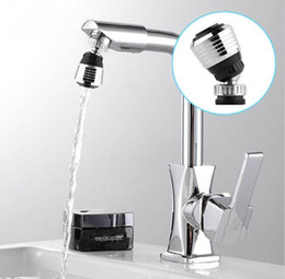 high quality kitchen taps NZ - Wholesale- 360 Rotate Swivel Faucet Nozzle Filter Adapter Water Saving Tap Aerator Diffuser High Quality Kitchen accessories